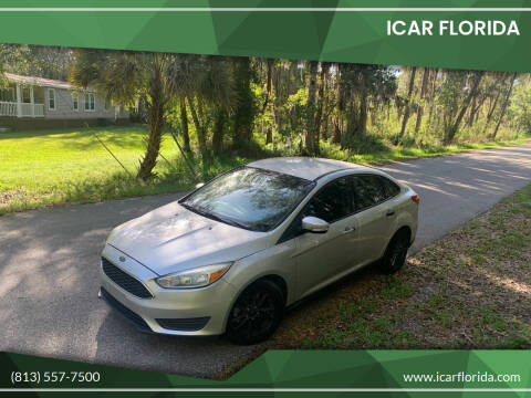 2015 Ford Focus for sale at ICar Florida in Lutz FL