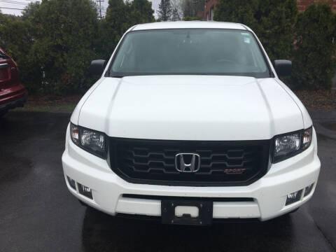2014 Honda Ridgeline for sale at Karlins Auto Sales LLC in Saratoga Springs NY
