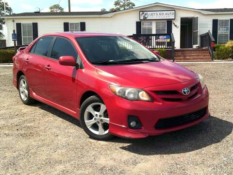 2011 Toyota Corolla for sale at Let's Go Auto Of Columbia in West Columbia SC