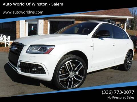 2017 Audi Q5 for sale at Auto World Of Winston - Salem in Winston Salem NC