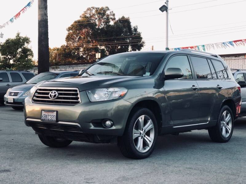 2008 Toyota Highlander for sale at Car House in San Mateo CA