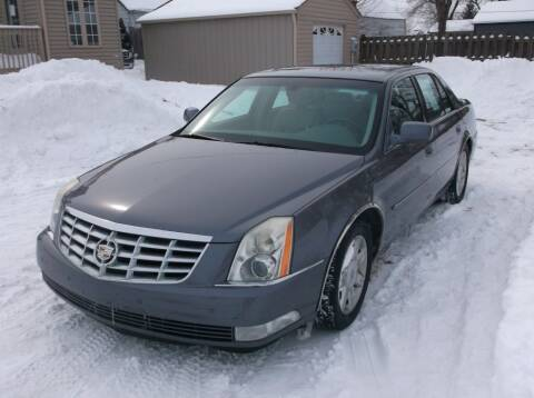 2007 Cadillac DTS for sale at Straight Line Motors LLC in Fort Wayne IN