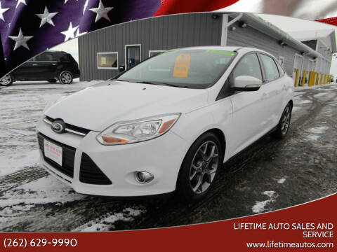 2014 Ford Focus for sale at Lifetime Auto Sales and Service in West Bend WI