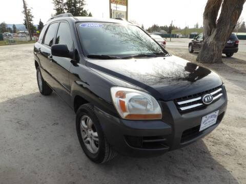 2006 Kia Sportage for sale at VALLEY MOTORS in Kalispell MT