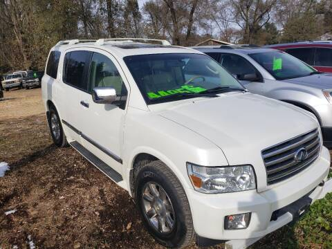 2006 Infiniti QX56 for sale at Northwoods Auto & Truck Sales in Machesney Park IL