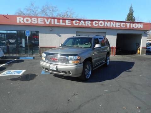 2003 GMC Yukon for sale at ROSEVILLE CAR CONNECTION in Roseville CA