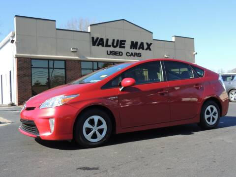 2012 Toyota Prius for sale at ValueMax Used Cars in Greenville NC