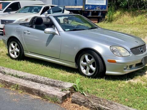 2001 Mercedes-Benz SLK for sale at XCELERATION AUTO SALES in Chester VA