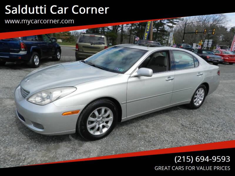 2003 Lexus ES 300 for sale at Saldutti Car Corner in Gilbertsville PA