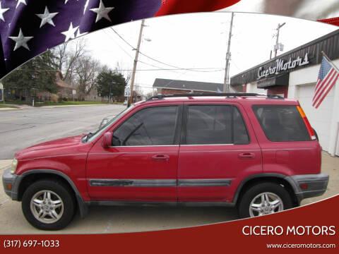 2000 Honda CR-V for sale at Cicero Motors in Cicero IN