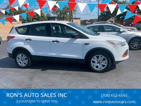 2013 Ford Escape for sale at RON'S AUTO SALES INC in Cicero IL