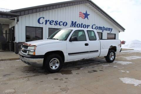 2004 Chevrolet Silverado 1500 for sale at Cresco Motor Company in Cresco IA