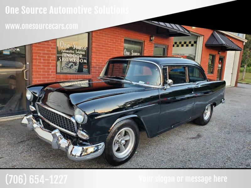 1955 Chevrolet Bel Air for sale at One Source Automotive Solutions in Braselton GA