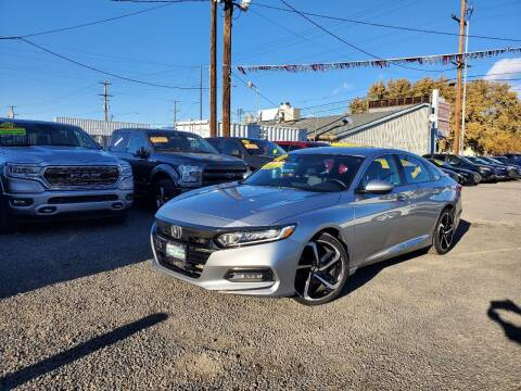 2018 Honda Accord for sale at Yaktown Motors in Union Gap WA
