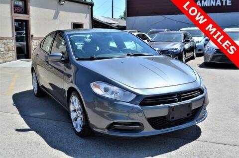2013 Dodge Dart for sale at LAKESIDE MOTORS, INC. in Sachse TX