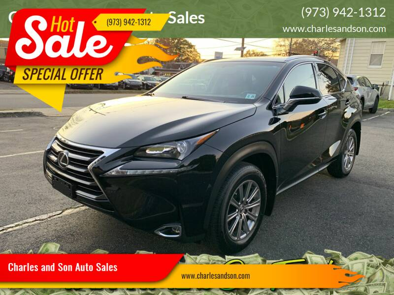 2016 Lexus NX 200t for sale at Charles and Son Auto Sales in Totowa NJ