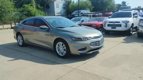 2018 Chevrolet Malibu for sale at Southwest Sports & Imports in Oklahoma City OK