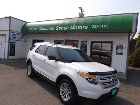 2013 Ford Explorer for sale at Common Sense Motors in Spokane WA