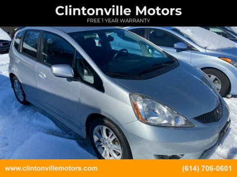 2011 Honda Fit for sale at Clintonville Motors in Columbus OH