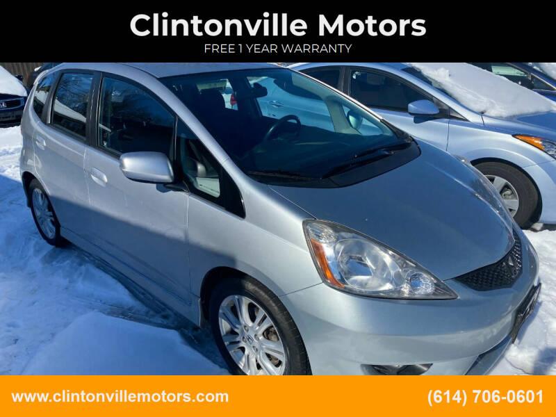 2011 Honda Fit for sale at Clintonville Motors in Columbus OH