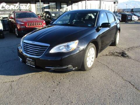 2014 Chrysler 200 for sale at Central Auto in South Salt Lake UT