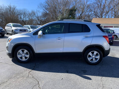 2016 Chevrolet Trax for sale at Simple Auto Solutions LLC in Greensboro NC