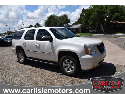 2010 GMC Yukon for sale at Carlisle Motors in Lubbock TX