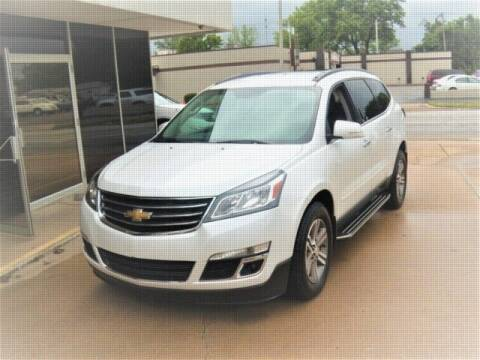 2017 Chevrolet Traverse for sale at PERL AUTO CENTER in Coffeyville KS
