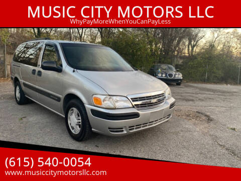 2004 Chevrolet Venture for sale at MUSIC CITY MOTORS LLC in Nashville TN