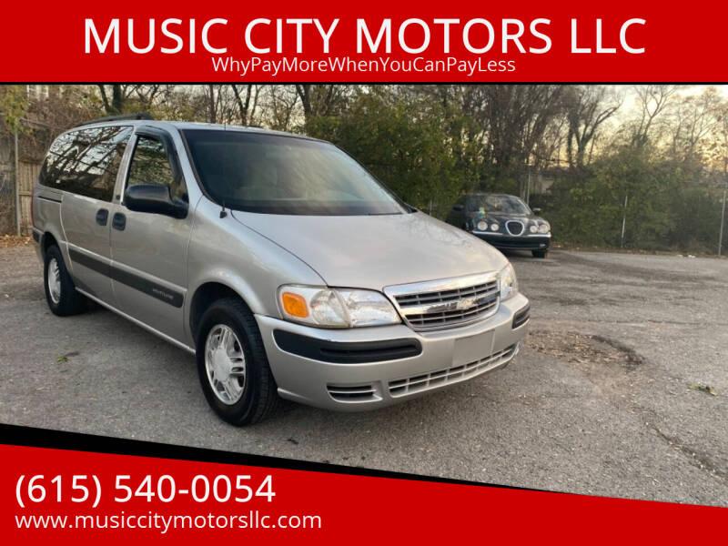 2004 Chevrolet Venture for sale at MUSIC CITY MOTORS LLC in Nashville TN