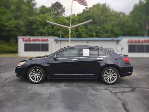 2011 Chrysler 200 for sale at T & G Auto Sales in Florence AL