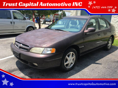 1999 Nissan Altima for sale at Trust Capital Automotive Inc. in Covington GA