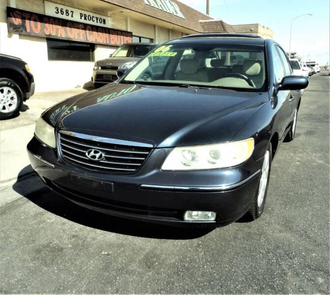 2006 Hyundai Azera for sale at DESERT AUTO TRADER in Las Vegas NV