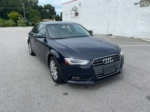 2013 Audi A4 for sale at LUXURY AUTO MALL in Tampa FL