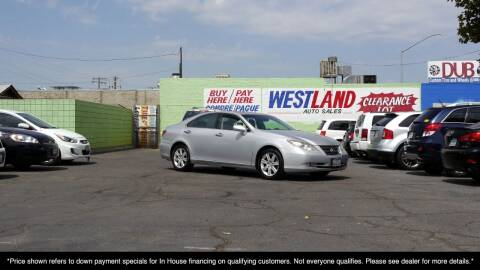 2009 Lexus ES 350 for sale at Westland Auto Sales on 7th in Fresno CA