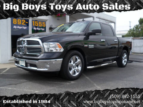 2016 RAM Ram Pickup 1500 for sale at Big Boys Toys Auto Sales in Spokane Valley WA