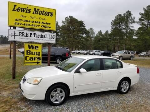 2007 Chevrolet Malibu for sale at Lewis Motors LLC in Deridder LA