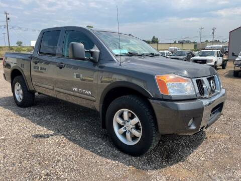 2012 Nissan Titan for sale at Northern Car Brokers in Belle Fourche SD