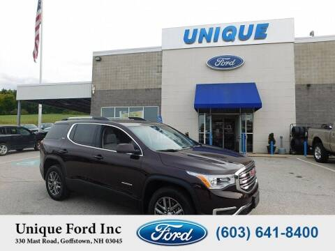 2018 GMC Acadia for sale at Unique Motors of Chicopee - Unique Ford in Goffstown NH