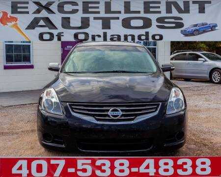 2012 Nissan Altima for sale at Excellent Autos of Orlando in Orlando FL