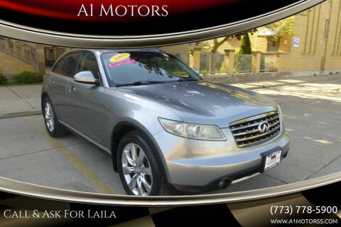 2008 Infiniti FX35 for sale at A1 Motors Inc in Chicago IL