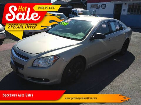 2012 Chevrolet Malibu for sale at Speedway Auto Sales in Yakima WA