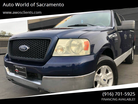 2004 Ford F-150 for sale at Auto World of Sacramento Stockton Blvd in Sacramento CA