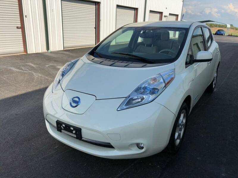 2012 Nissan LEAF for sale at Guero's Auto Sales in Austin TX