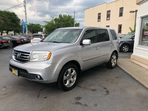 2012 Honda Pilot for sale at ADAM AUTO AGENCY in Rensselaer NY