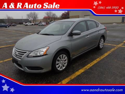 2014 Nissan Sentra for sale at A & R Auto Sale in Sterling Heights MI