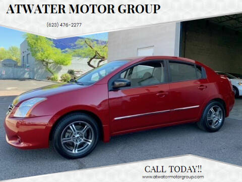 2012 Nissan Sentra for sale at Atwater Motor Group in Phoenix AZ