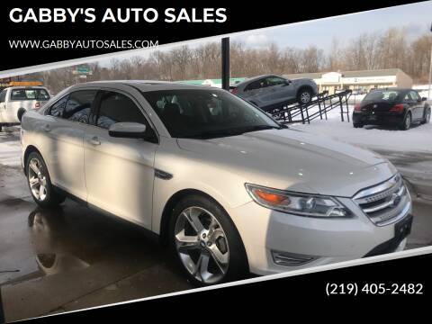 2011 Ford Taurus for sale at GABBY'S AUTO SALES in Valparaiso IN