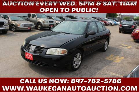 2005 Nissan Sentra for sale at Waukegan Auto Auction in Waukegan IL