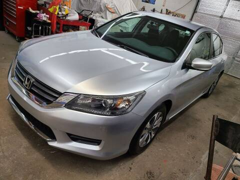 2013 Honda Accord for sale at Devaney Auto Sales & Service in East Providence RI